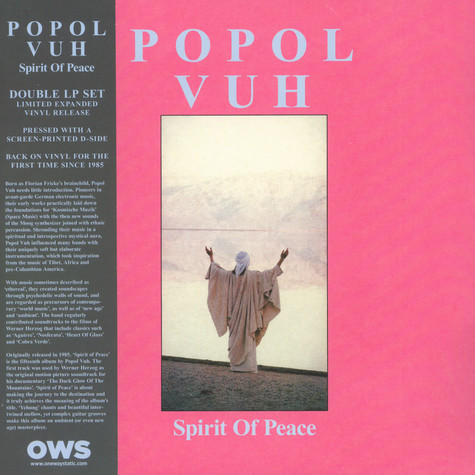 Popol Vuh - Spirit Of Peace