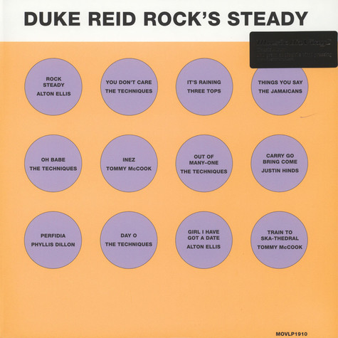 V.A. - Duke Reid Rock's Steady Black Vinyl Edition
