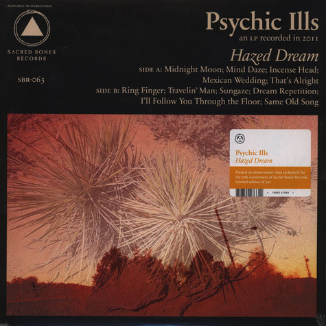 Psychic Ills - Hazed Dream Colored Vinyl Edition