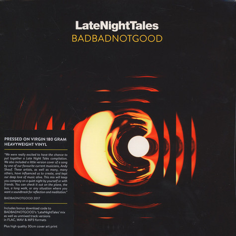 BBNG (BadBadNotGood) - Late Night Tales