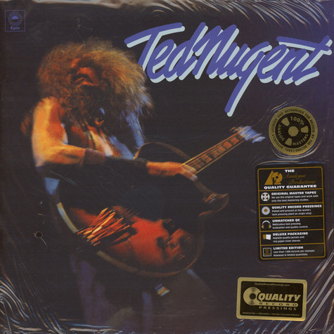 Ted Nugent - Ted Nugent 45RPM, 200g Vinyl Edition