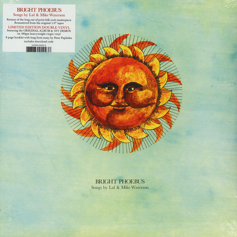 Lal & Mike Waterson - Bright Phoebus Limited Edition