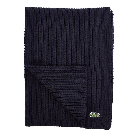 Lacoste - Rib Knitted Scarf
