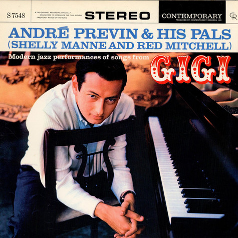 André Previn & His Pals - Modern Jazz Performances Of Songs From Gigi