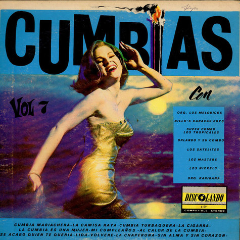 V.A. - Cumbias Vol 7
