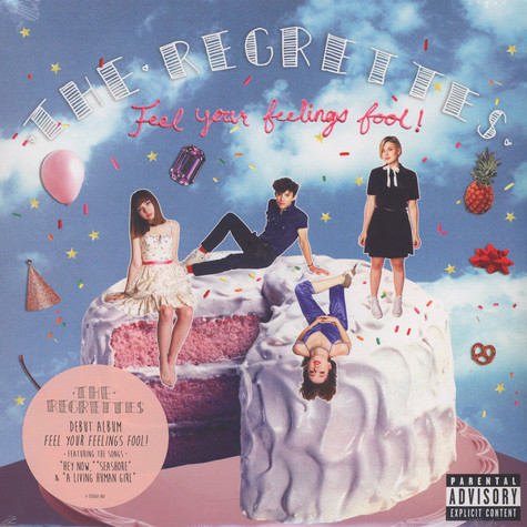 Regrettes, The - Feel You R Feelings Fool