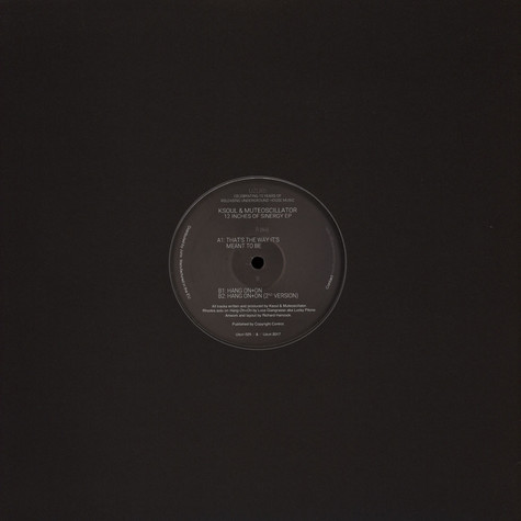 Ksoul / Muteoscillator - 12 Inches Of Sinergy EP