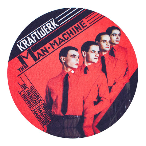Kraftwerk - Man Machine Album Slipmat