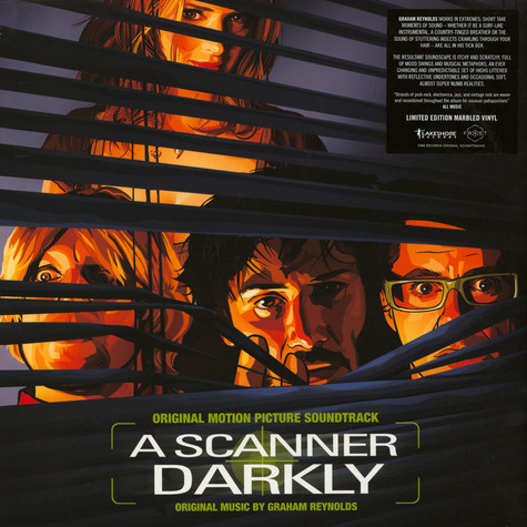 Graham Reynolds - OST A Scanner Darkly Colored Vinyl Edition