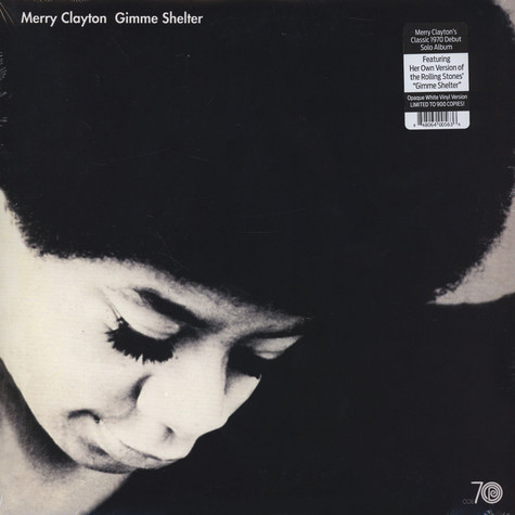 Merry Clayton - Gimme Shelter Colored Vinyl Edition