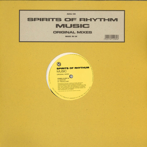 Spirits Of Rhythm - Music - Original Mixes