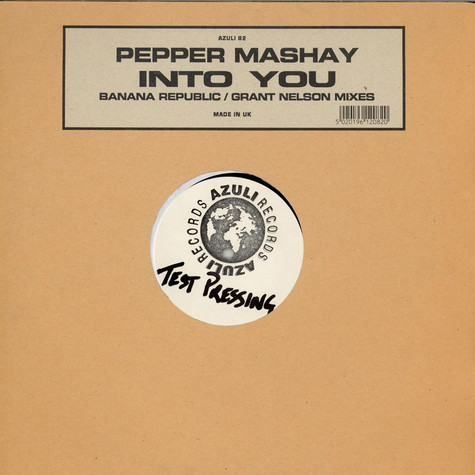 Pepper Mashay - Into You (Banana Republic / Grant Nelson Mixes)