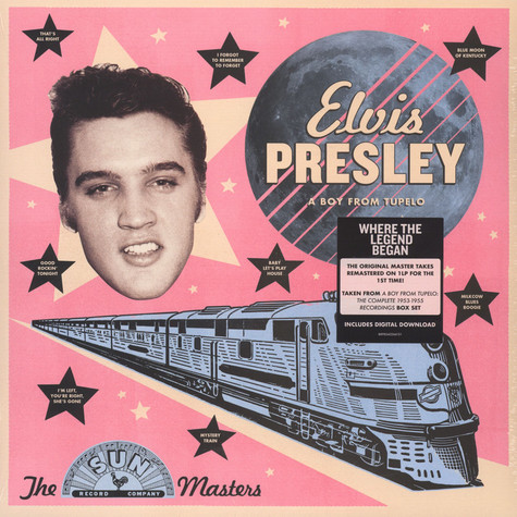Elvis Presley - A Boy From Tupelo: The Sun Masters
