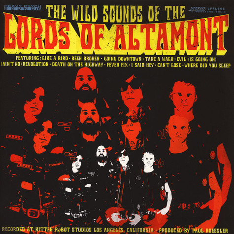 Lords Of Altamont - The Wild Sounds Of… Black Vinyl Edition