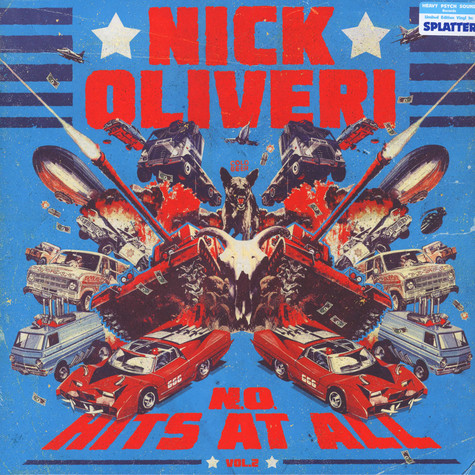 Nick Oliveri - N.O. Hits At All Volume 2 Colored Vinyl Edition