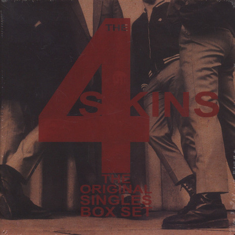 4 Skins, The - The Original Singles Box Set