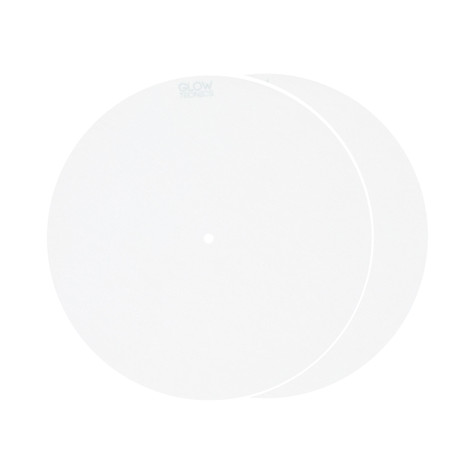 "Glowtronics - Snow White 7"" Glow In The Dark Slipmat"