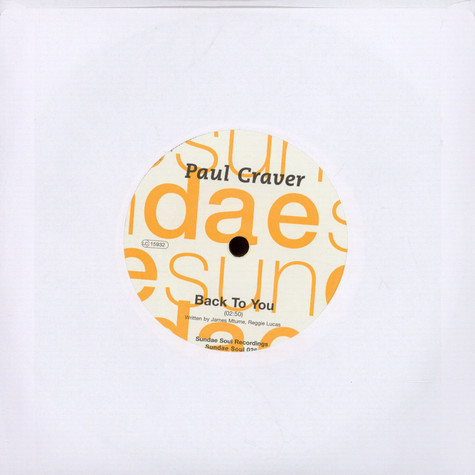 Paul Craver - Back To You / Don't Let Love Walk Out On Us (T-Groove Remix)