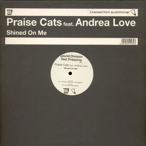 Praise Cats Feat. Andrea Love - Shined On Me