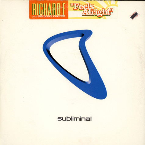 Richard F. Featuring Simonne Cooper - Feels Alright