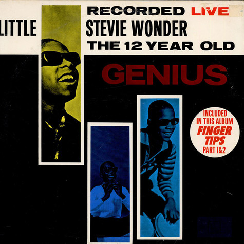 Little Stevie Wonder - The 12 Year Old Genius: Recorded Live