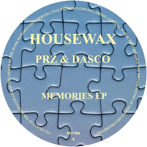 Prz & Dasco - Memories Ep Boo Williams Remix