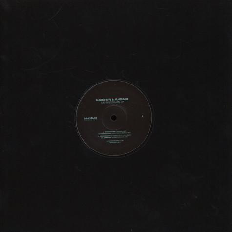 Marco Effe / James Mile - Mehringdamm EP