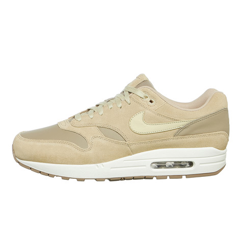 best sneakers 563f2 5c99a Nike. Air Max 1 Premium Leather (Khaki ...