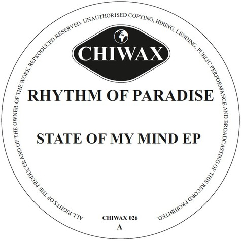 Rhythm Of Paradise - State Of My Mind Ep