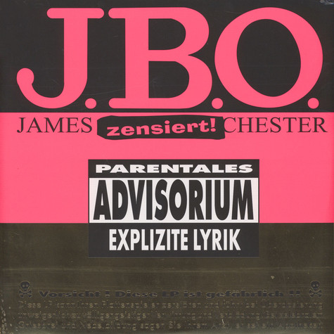 J.B.O. - Explizite Lyrik 20 Years Anniversary Edition