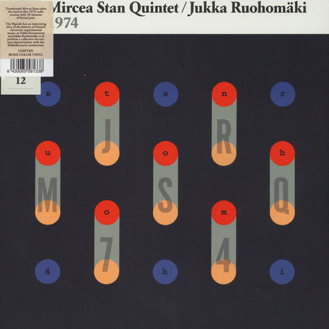 Mircea Stan Quartet / Jukka Ruohomäki - Jazz-Liisa 12 Colored Vinyl Edition