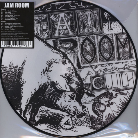 Clutch - Jam Room Picture Disc Edition
