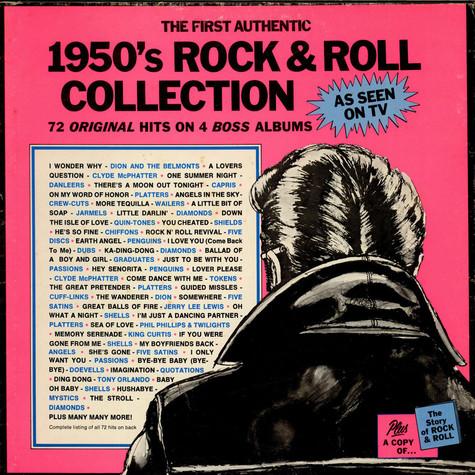 V.A. - The First Authentic 1950's Rock & Roll Collection