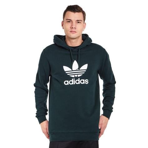 c78e20004ba6 adidas - Trefoil Warm-Up Hoodie (Clear Granite)