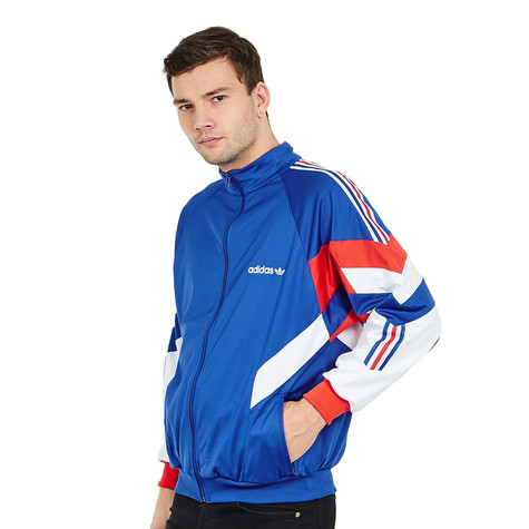 low priced 03521 9c101 adidas. Aloxe Track Top (Bold Blue  White)