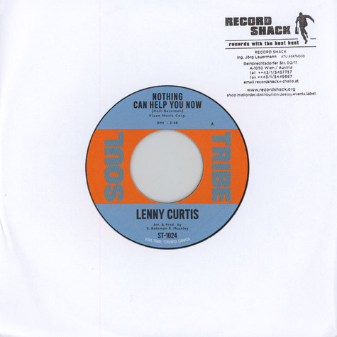 Lenny Curtis / Harry Starr - Nothing Can Help You Now / Live It Up
