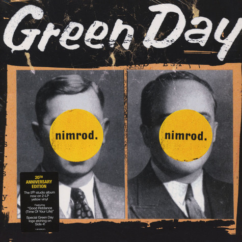 Green Day - Nimrod 20th Anniversary Edition