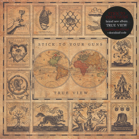 Stick To Your Guns - True View Red Vinyl Edition