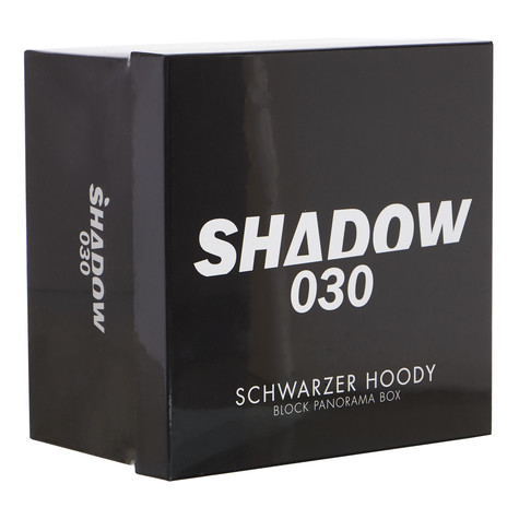 Shadow030 - Schwarzer Hoody Limited Fan Edition