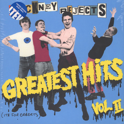 Cockney Rejects - Greatest Hits Volume 2 Blue Vinyl Edition