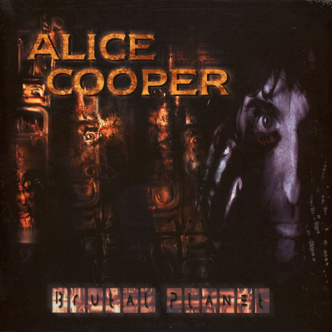 Alice Cooper - Brutal Planet Black Vinyl Edition