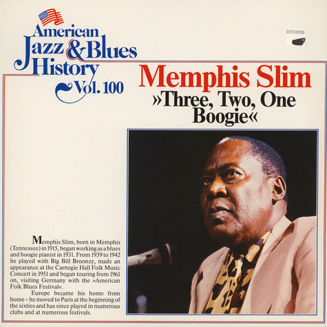 Memphis Slim - Three, Two, One Boogie