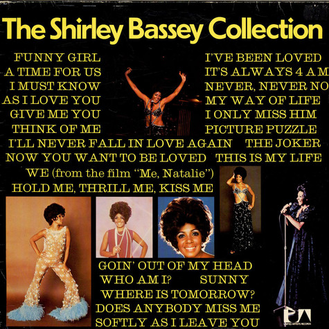 Shirley Bassey - The Shirley Bassey Collection