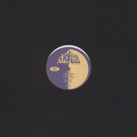 Apogee (Dan Curtin) - Tales From The 2nd Moon EP