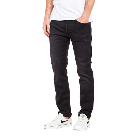 Edwin - ED-80 Slim Tapered Jeans CS Ink Black Denim, 11 oz