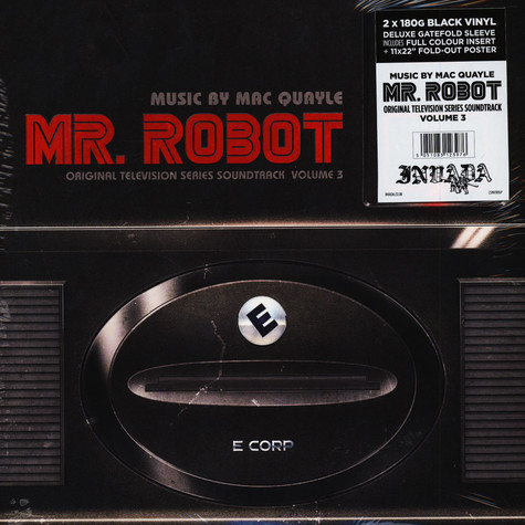 Mac Quayle - OST Mr. Robot Volume 3 Black Vinyl Edition