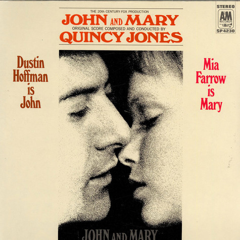 Quincy Jones - OST John And Mary
