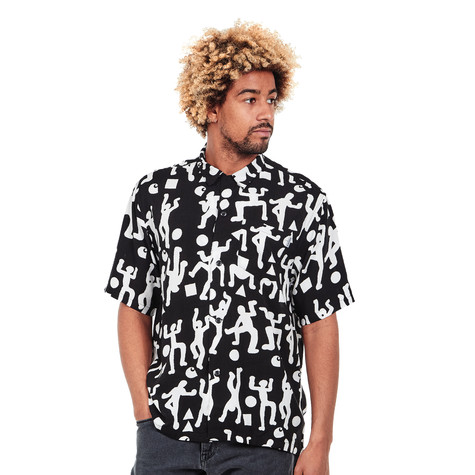54af532fc12 Carhartt WIP - S/S World Party Shirt (World Party Print / Black ...