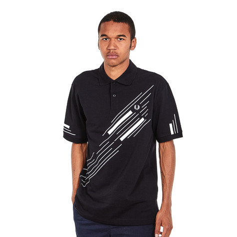 Fred Perry - Abstract Graphic Pique Shirt