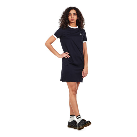 Fred Perry - Taped Ringer T-Shirt Dress